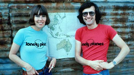 Tony en Maureen Wheeler. Foto: Lonely Planet